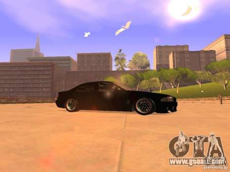 BMW M5 E39 Stanced for GTA San Andreas left view