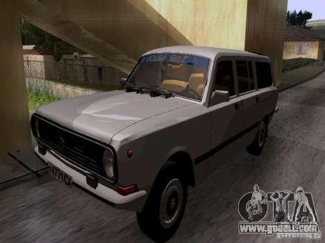GAZ 24-12 SL Volga for GTA San Andreas back left view