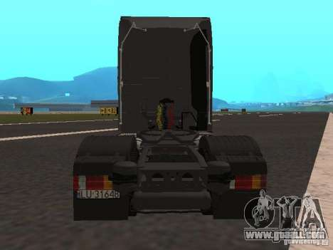 Mercedes-Benz Actros MP3 for GTA San Andreas back view