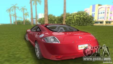 Mitsubishi Eclipse GT 2007 for GTA Vice City left view
