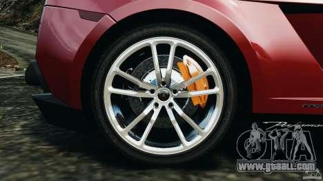 Lamborghini Gallardo LP570-4 Spyder Performante for GTA 4 upper view