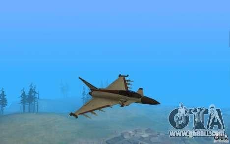 EF-2000 Typhoon V1.3 for GTA San Andreas