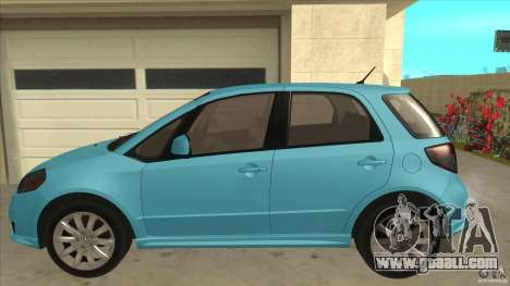 Suzuki SX4 Sportback 2011 for GTA San Andreas left view