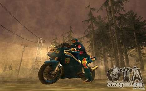Red Bull Clothes v1.0 for GTA San Andreas seventh screenshot