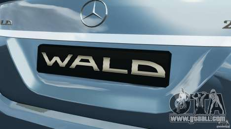 Mercedes-Benz S W221 Wald Black Bison Edition for GTA 4 wheels