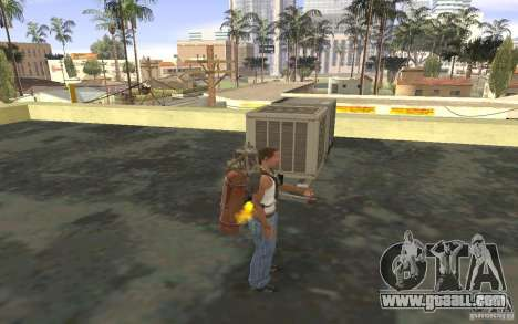 Jetpack in the style of the USSR for GTA San Andreas fifth screenshot