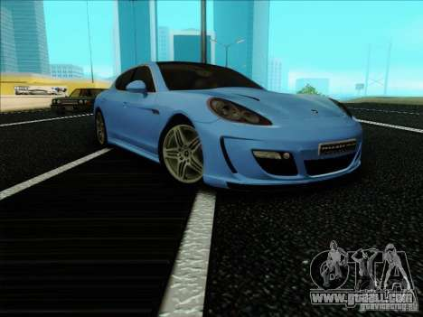 Gemballa Mistrale 2010 V1.0 for GTA San Andreas right view