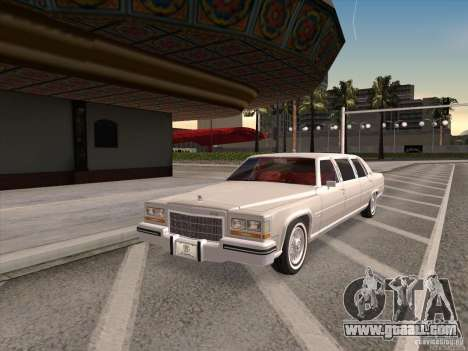Cadillac Fleetwood Limousine 1985 for GTA San Andreas