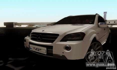 Mercedes Benz ML63 AMG for GTA San Andreas
