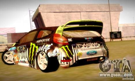 Ford Fiesta Gymkhana 4 for GTA San Andreas engine