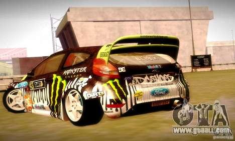 Ford Fiesta Gymkhana 4 for GTA San Andreas engine