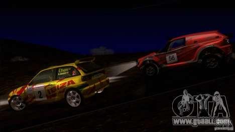 Seat Ibiza Rally for GTA San Andreas engine