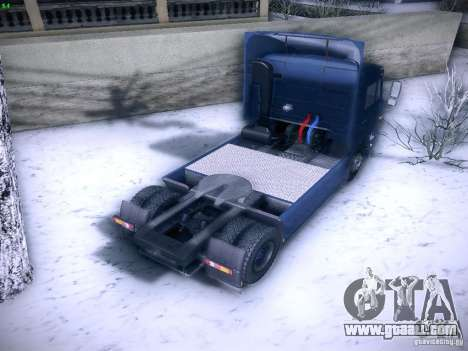 KAMAZ 5460 Sport for GTA San Andreas back left view