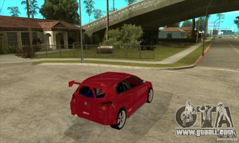 Alfa Romeo 147 for GTA San Andreas right view