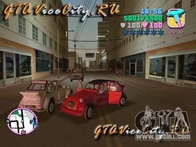Citroen 2CV spoiler for GTA Vice City