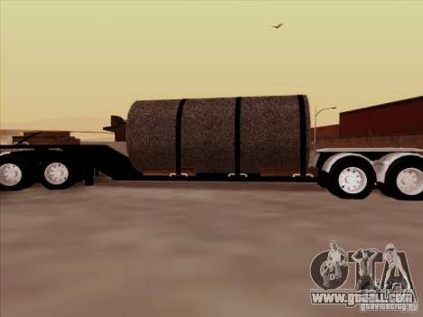 Trailer, Peterbilt 378 Custom for GTA San Andreas left view