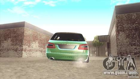 Mercedes-Benz E-Class Estate S212 for GTA San Andreas back view