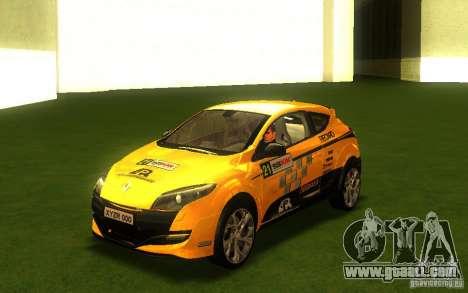 Renault Megane RS for GTA San Andreas