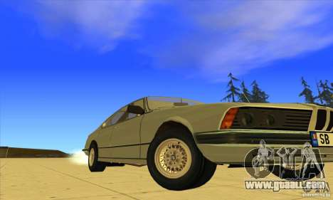BMW 735i E23 1979 for GTA San Andreas back view