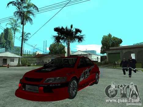 Mitsubishi Lancer Evo IX MR Edition for GTA San Andreas