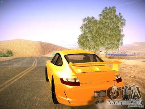 Porsche 911 for GTA San Andreas inner view