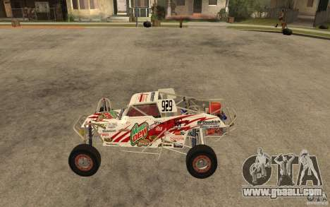 CORR Super Buggy 1 (Schwalbe) for GTA San Andreas left view