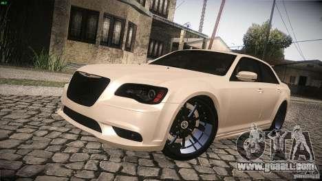Chrysler 300 SRT8 2012 for GTA San Andreas upper view