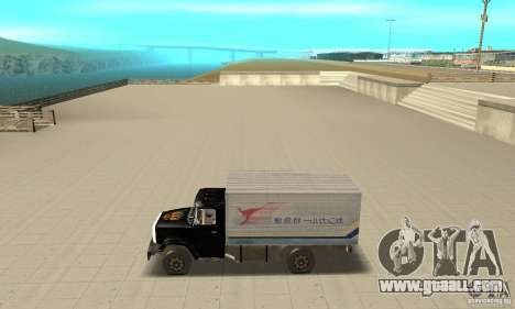 ZIL 433112 with tuning for GTA San Andreas left view