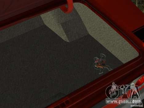 Dodge Charger 426 R/T 1968 v2.0 for GTA Vice City bottom view