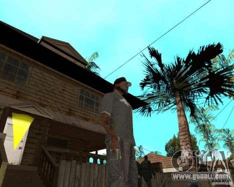 Desert Eagle from CoD: MW2 for GTA San Andreas third screenshot