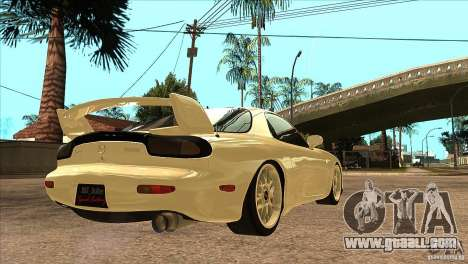 Mazda RX7 FD3S Type-R Bathurst for GTA San Andreas right view