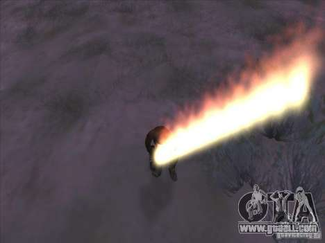 Sword of fire for c Jay for GTA San Andreas third screenshot