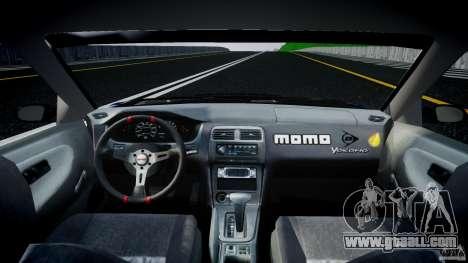 Nissan 240sx Toyo Kawabata for GTA 4 right view