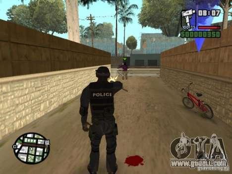 Commando of the SWAT 4 for GTA San Andreas fifth screenshot
