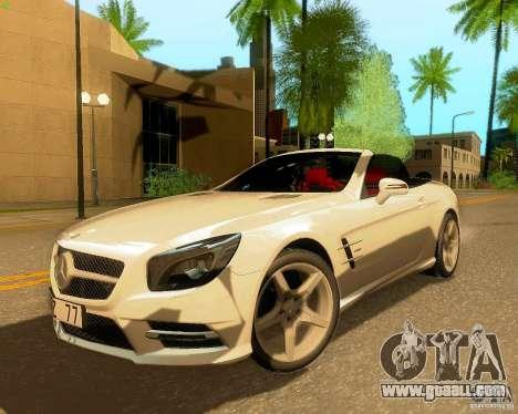 Mercedes-Benz SL350 2013 for GTA San Andreas