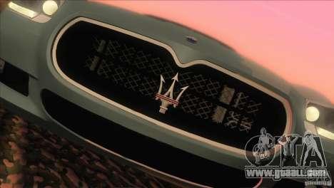 Maserati Quattroporte Sport GT V1.0 for GTA San Andreas right view
