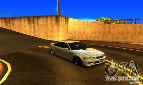 BMW M3 Tuneable for GTA San Andreas right view