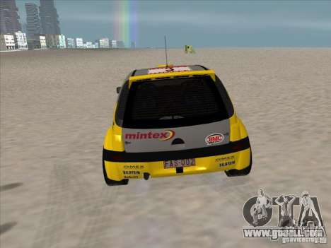 Opel Rally Car for GTA San Andreas right view