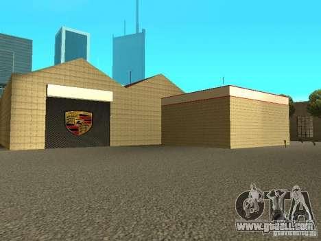 Porsche Garage for GTA San Andreas fifth screenshot