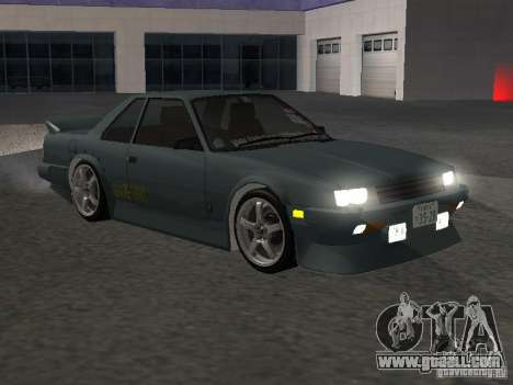 Nissan Skyline RS R30 for GTA San Andreas inner view