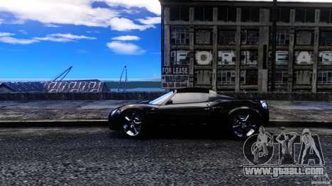 Opel Speedster Turbo for GTA 4 left view