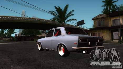 Nissan Datsun 510 for GTA San Andreas back left view