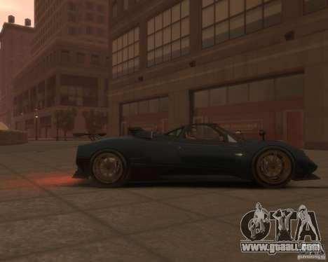 Pagani Zonda Tricolore for GTA 4 right view