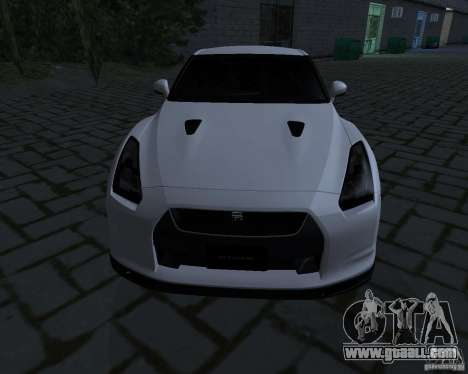 Nissan GTR-35 Spec-V for GTA San Andreas left view