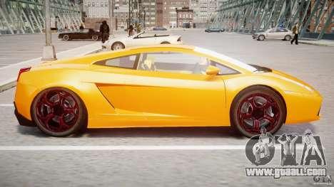 Lamborghini Gallardo Superleggera for GTA 4 back left view