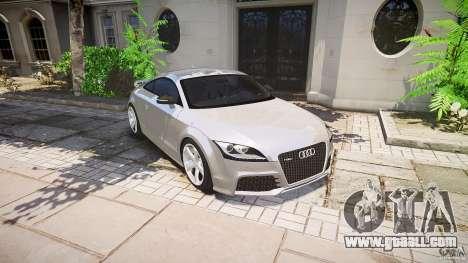 Audi TT RS 2010 for GTA 4 engine