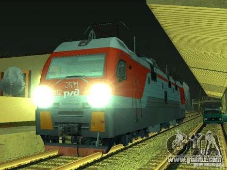 ÈP1M-392 OJSC «RUSSIAN RAILWAYS» for GTA San Andreas