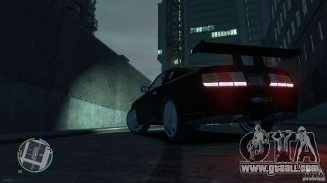 Ford Mustang GTR for GTA 4 left view