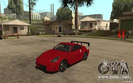 Nissan 350Z Supreme for GTA San Andreas