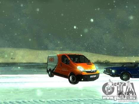 Vauxhall Vivaro v1.1 TNT for GTA San Andreas left view